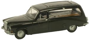 Oxford Diecast 76DS002 Daimler DS420 Black Hearse OO Gauge