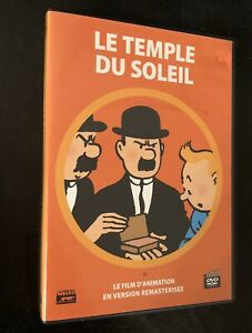 Tintin-Le-Temple-Du-Soleil-DVD-Edition-Remasterisee-French-English