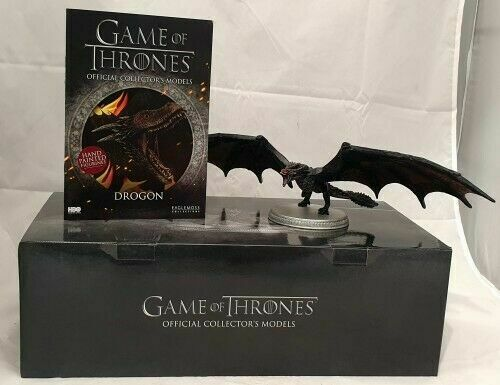 DROGON Game Of Thrones Dragon model by Eaglemoss New Boxed 4