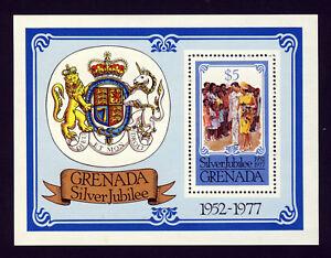 GRENADA-Queen-Elizabeth-II-1977-The-Silver-Jubilee-Mini-Sheet-SG-MS862-MNH