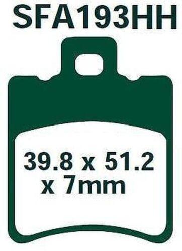 EBC Bremsbeläge SFA193HH VORNE Suzuki AP 50 R//S//T//V//W 96-02
