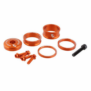 Wolf Tooth BLING KIT Headset Top Cap /& Spacers Anodized GOLD