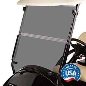 Club-Car-Precedent-Tinted-Folding-Golf-Cart-Windshield-US-Made