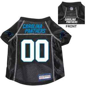 NEW-CAROLINA-PANTHERS-PET-DOG-PREMIUM-NFL-JERSEY-w-NAME-TAG-ALL-SIZES