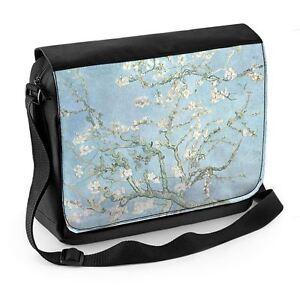 41ffc0a793a6 Vincent Van Gogh Almond Blossoms Laptop Messenger Bag 5056031636621 ...