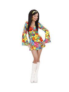 Gr Radient 70s Kostüm Flower Power Girl Bunt M Ein Kunststoffkoffer Ist FüR Die Sichere Lagerung Kompartimentiert