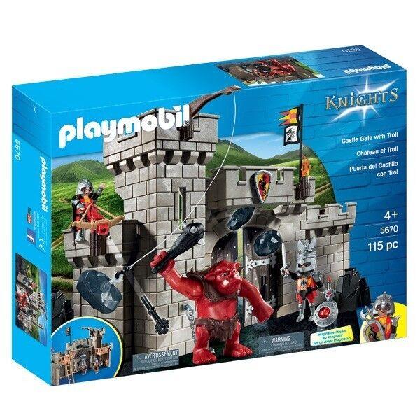 Jugarmobil - 5670 - Citadelle des chevaliers avec troll Série Knights