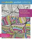 Zendoodle Pocket Coloring: Creative Sensations: Hypnotic Patterns to Color and Display by Julia Snegireva (Paperback / softback, 2016)