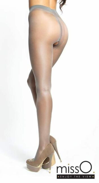 615bf26d63687 Miss O Open Crotch Pantyhose Crotchless Sheer Tights 20 Denier Large ...