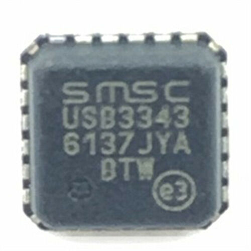 10PCS USB3343-CP-TR QFN-24 USB Transceiver 1TR 2.0 TXRX