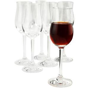 Classic-Port-Wine-Glasses-Set-of-6-Sherry-Glass-Enhances-the-Aroma-amp-Flavor