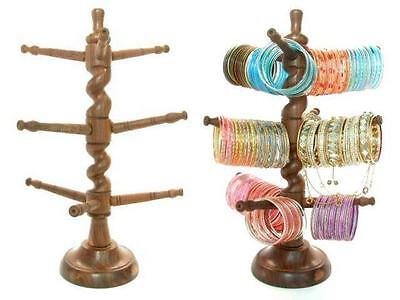 Tree Twist Bangle Display Indian Jewelry Glass Bracelet Holder Cup Mug Rack