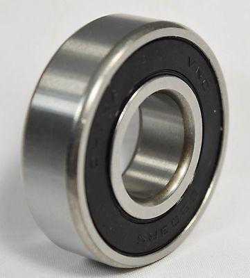 6204-2RS C3 Premium Sealed Ball Bearing, 20x47x14mm (Qty 2)