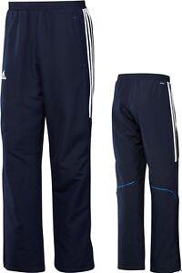 395c1ffed63b2e Das Bild wird geladen adidas-MaennerTrainingshose-blau-Jogginghose-Sporthose -Fitness-Gr-XS-