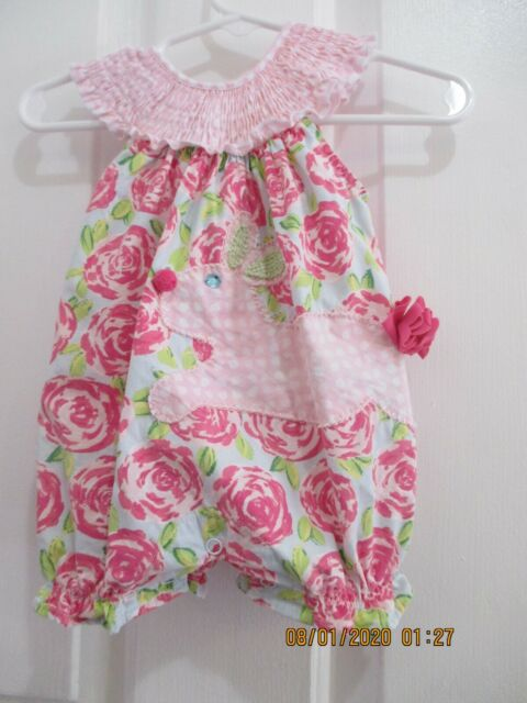 Mud Pie Baby Girls Chickadee Collection One Piece Outfit Owl Applique Bum Ruffle 9 12 Months For Sale Online Ebay
