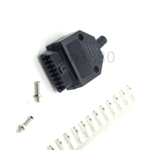 housing screw New OBD2 16Pin female connector // housing OBD plug terminal