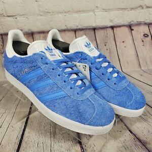 Adidas Women's Size 5.5 Gazelle Blue Suede Sneakers | eBay
