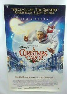 A Christmas Carol 2009 Jim Carrey & Gay Oldman Movie Poster Print 44 x 26   eBay