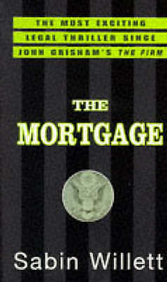"""VERY GOOD"" The Mortgage, Willett, Sabin, Book"