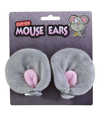 Honest New Grey Clip On Mouse Ears Clothing, Shoes & Accessories Accessories