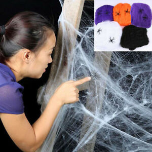 Halloween-Spider-Web-Scary-Party-Scene-Props-Stretchy-Cobweb-Home-Bar-Decoration