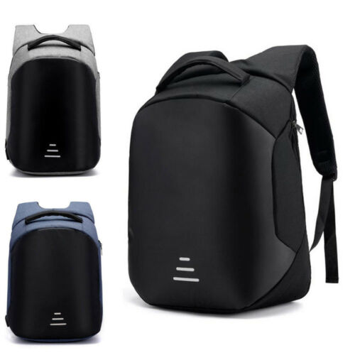 Anti-theft Men//Womens Laptop Notebook Backpack+USB Charging Business School Bag