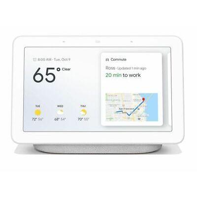 Google Home Hub with Google Assistant (GA00516-US) - Chalk Gray