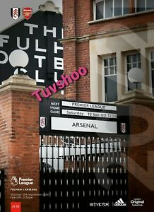 Fulham-v-Arsenal-Inaugural-Premier-League-2020-21-SOLD-OUT-Programme-12-9-2020