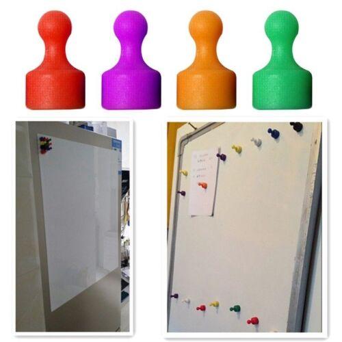 2x Puissant AIMANT Réfrigérateur Remark Poussoir Broche Bulletin Board Beau