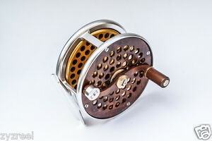 ZYZ-Classic-Fly-Fishing-Reel-3-0-034-WF5-6WT-Click-Pawl-Drag-Trout