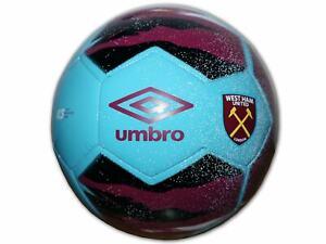 Umbro West Ham United Fußball Gr.5 Neo Trainer rot blau WUFC Trainingsball