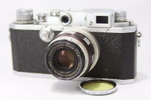Canon-IID-Rangefinder-Film-Camera-w-50mm-f2-8-lens-As-Is-K000f