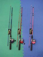 Master Tackle Roddy Hunter Spincast Combo 5'6 Choose Your Color
