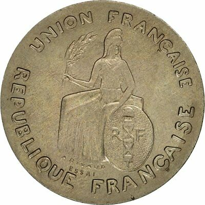 #473126 1948 60-62 Ms New Caledonia Nickel-bronze High Quality And Inexpensive Coin Inventive Paris Franc