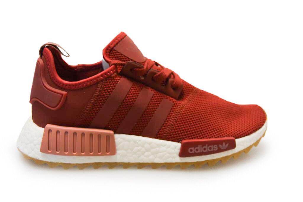 Womens Adidas NMD_R1 Trail W W W - S81047 - Maroon White Trainers 6bc9ad