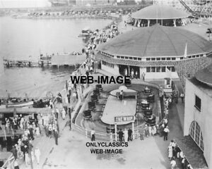 1920s-EXCELSIOR-AMUSEMENT-PARK-LAKE-MINNETONKA-MN-PHOTO-ROLLER-COASTER-WHIP-RIDE