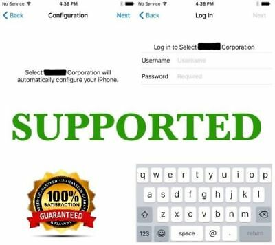 APPLE MDM BYPASS IPHONE / IPAD / IPOD 100% all iOS Versions - Fast service  | eBay