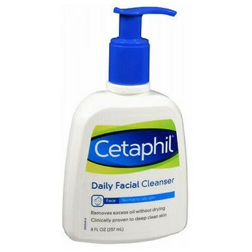 Cetaphil Daily Facial Cleanser For Normal To Oily Skin 8oz Each For Sale Online Ebay
