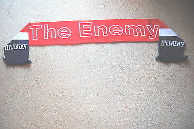 THE ENEMY RED WHITE /& BLUE BAND SCARF NEW OFFICIAL MUSIC FOR THE PEOPLE STREETS