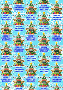 Friends Personalised Christmas Gift Wrap Friends Wrapping Paper Tv Shows Ebay