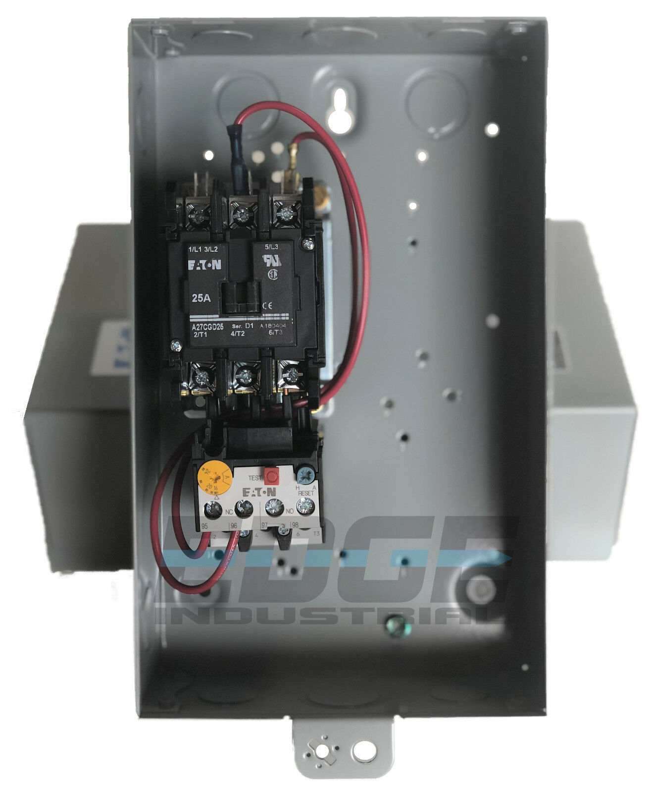 A27CGD25C016 Eaton//Cutler Hammer DP Starter 7.5HP 25 FLA 208//230V 3ph