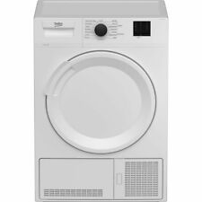Beko DTLCE80021W B Rated 8Kg Condenser Tumble Dryer White