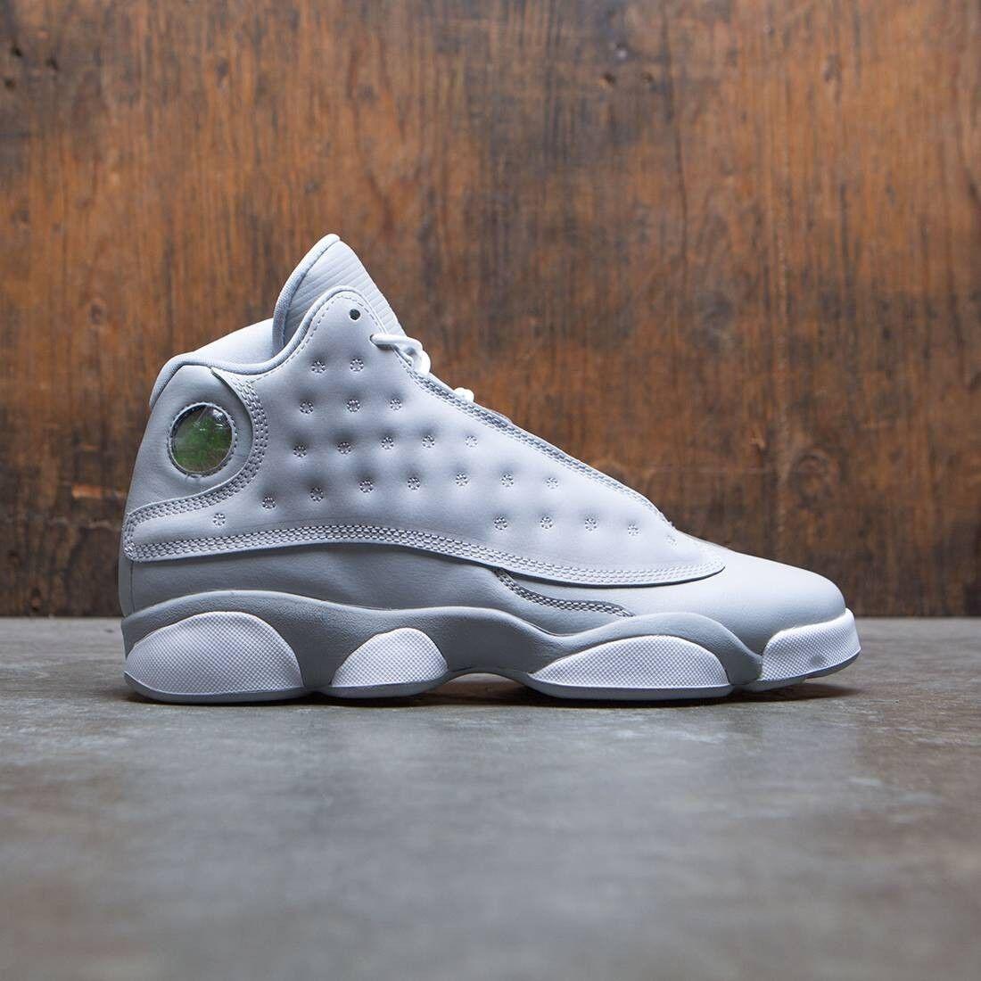 Nike Air Jordan 13 XIII Retro Wolf Grey Size 8y. 439358-018 8.5