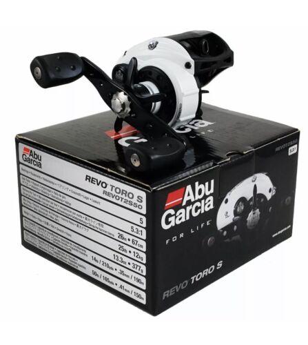 ABU GARCIA REVO TORO S REVOT2S50 5.3:1 RIGHT HAND BAIT CAST REEL SALTWATER