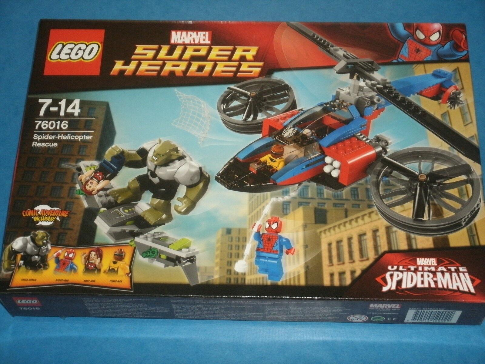 Lego  76016 76016 76016 Spider-helicoptor Rescue (Marvel Ultimate Spider-Man) vert Goblin un 130459