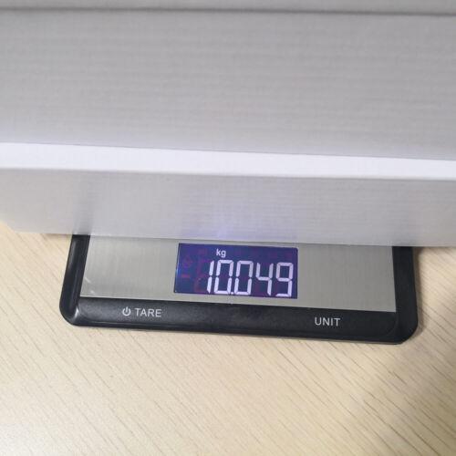 Slim Digital Kitchen Scale Max 22lb//10KG Electronic WaterProof LCD Light 7 Modes
