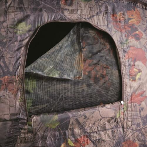 Ground Blind Camo Portable Foldable Pop Up 4-panel Spring Steel Hunting Blinds