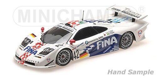 Minichamps MCLAREN F1 GTR BMW LEHTO   SOPER   PIQUET 24H LE MANS 1997   1 18