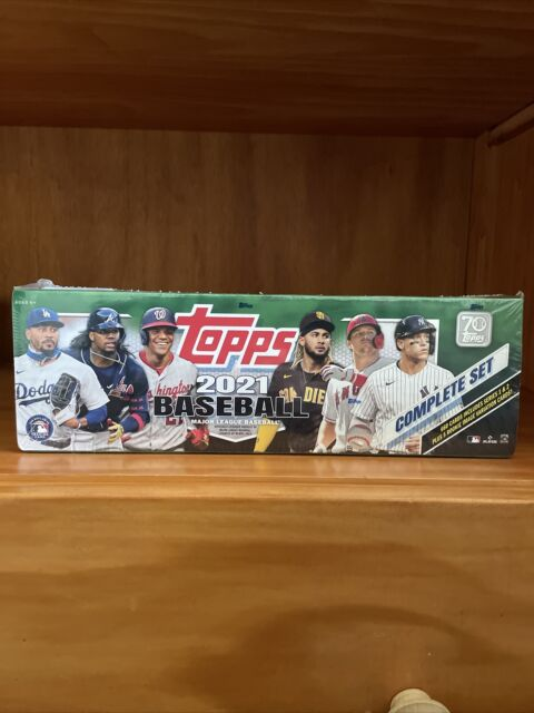 2021 Topps Series 1 & 2 Complete Set Baseball Factory Sealed Box- 660 Ct.