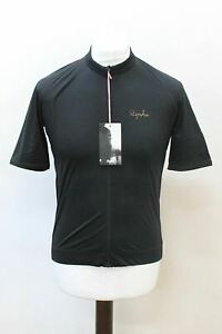 RAPHA-Men-039-s-Core-Jersey-Black-Short-Sleeve-Full-Zip-Cycling-Top-Size-XS-BNWT